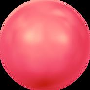 Swarovski Crystal Pearl 5818 - 6mm, Crystal Neon Red Pearl (001 770), 500pcs