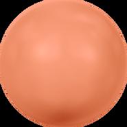 Swarovski Crystal Pearl 5818 - 6mm, Crystal Coral Pearl (001 816), 500pcs