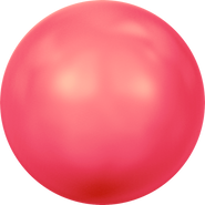 Swarovski Crystal Pearl 5818 - 8mm, Crystal Neon Red Pearl (001 770), 250pcs