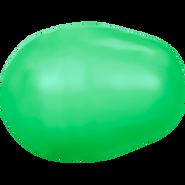 Swarovski Crystal Pearl 5821 - 11x8mm, Crystal Neon Green Pearl (001 771), 250pcs