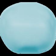 Swarovski Crystal Pearl 5840 - 14mm, Crystal Turquoise Pearl (001 709), 50pcs