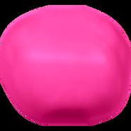 Swarovski Crystal Pearl 5840 - 14mm, Crystal Neon Pink Pearl (001 732), 50pcs