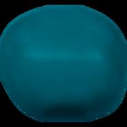 Swarovski Crystal Pearl 5840 - 8mm, Crystal Petrol Pearl (001 600), 250pcs