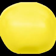 Swarovski Crystal Pearl 5840 - 8mm, Crystal Neon Yellow Pearl (001 734), 250pcs