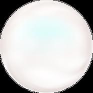 Swarovski Crystal Pearl 5860 - 12mm, Crystal Pearlescent White Pearl (969), 100pcs