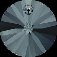 Swarovski Pendant 6428 - 8mm, Graphite (253), 144pcs