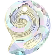 Swarovski Pendant 6731 - 14mm, Crystal Aurore Boreale (001 AB), 36pcs