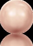Swarovski Crystal Pearl 5809 MM 1,5 CRYSTAL ROSE GOLD PEARL, 2000pcs