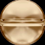 Swarovski Bead 5028/4 MM 10,0 CRYSTAL GOL.SHADOW(6pcs)