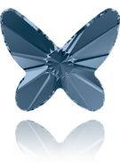 Swarovski Flatback 2854 MM 18,0 DENIM BLUE F(1pcs)