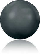 Swarovski Flat Back 2080/4 SS 10 JET HEMAT M HF(1440pcs)