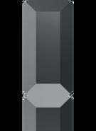 Swarovski Flat Back 2510 MM 5,0X 2,5 JET HEMAT M HF(720pcs)