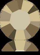 Swarovski 1028 PP 10 CRYSTAL METLGTGOLD F(1440pcs)