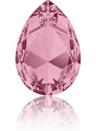 Swarovski 4327 MM 30,0X 20,0 CRYSTAL ANTIQUPINK F(24pcs)