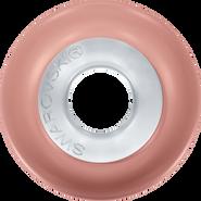 Swarovski 5890 MM 14,0 CRYSTAL ROSPEPEARL STEEL(12pcs)