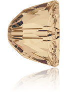 Swarovski 5542 MM 8,0 CRYSTAL GOL.SHADOW(96pcs)