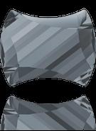 Swarovski 2540 MM 7,0X 5,5 CRYSTAL SILVNIGHT F(240pcs)