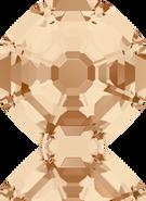 Swarovski Fancy Stone 4678 MM 14,0 CRYSTAL GOL.SHADOW F(48pcs)