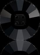Swarovski 3018 MM 18,0 JET(24pcs)