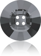 Swarovski 3018 MM 23,0 CRYSTAL SILVNIGHT(16pcs)