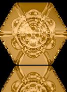 Swarovski Fancy Stone 4681 MM 14,0 LIGHT COLORADO TOPAZ F(72pcs)