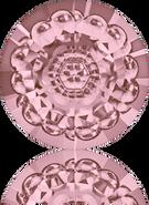 Swarovski Round Stone 1681 MM 12,0 CRYSTAL ANTIQUPINK F(72pcs)