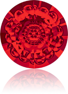 Swarovski Round Stone 1681 MM 12,0 LIGHT SIAM F(72pcs)