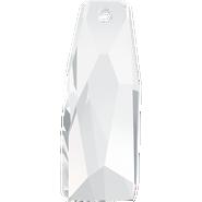 Swarovski Pendant 6019/G MM 35,0 CRYSTAL(8pcs)