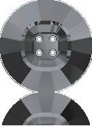 Swarovski 3018 MM 18,0 CRYSTAL SILVNIGHT(24pcs)