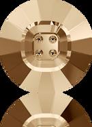 Swarovski 3018 MM 23,0 CRYSTAL GOL.SHADOW(16pcs)