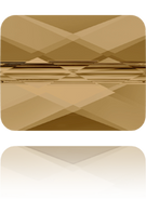 Swarovski Bead 5055 MM 10,0X 8,0 CRYSTAL BRONZSHADE(72pcs)