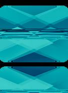 Swarovski Bead 5055 MM 10,0X 8,0 INDICOLITE(72pcs)