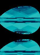 Swarovski Bead 5056 MM 10,0X 6,0 INDICOLITE(144pcs)