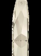 Swarovski Pendant 6019/G MM 35,0 CRYSTAL SILVSHADV(8pcs)