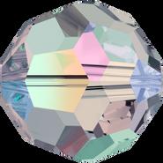 Swarovski Bead 5000 - 6mm, Black Diamond AB FC (215 AB FC), 360pcs