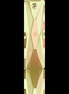 Swarovski 6465 MM 25,0X 7,0 CRYSTAL LUMINGREEN(36pcs)