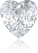 Swarovski 6228 MM 14,4X 14,0 CRYSTAL SILVER-PAT(144pcs)