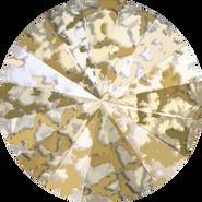 Swarovski 1122 MM 14,0 CRYSTAL GOLD-PAT F(144pcs)