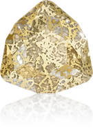Swarovski Fancy Stone 4706 MM 17,0 CRYSTAL GOLD-PAT F(48pcs)
