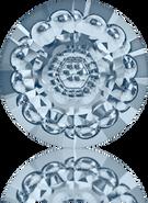 Swarovski Round Stone 1681 MM 12,0 CRYSTAL BL.SHADE F(72pcs)