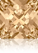 Swarovski Fancy Stone 4418 MM 8,0 CRYSTAL GOL.SHADOW F(216pcs)