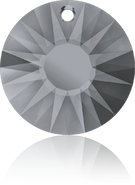 Swarovski Pendant 6724/G MM 19,0 CRYSTAL SILVNIGHT(45pcs)