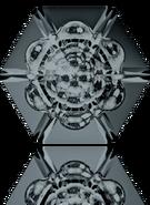 Swarovski Fancy Stone 4681 MM 14,0 CRYSTAL SILVNIGHT F(72pcs)