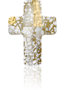 Swarovski 5378 MM 18,0 CRYSTAL GOLD-PAT(48pcs)