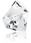Swarovski Fancy Stone 4923 MM 38,0X 33,0 CRYSTAL F(6pcs)