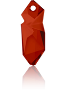 Swarovski Pendant 6913 MM 40,0 CRYSTAL RED MAGMA(8pcs)