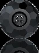 Swarovski Button 3008 MM 14,0 JET(36pcs)
