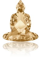 Swarovski Fancy Stone 4779 MM 18,0X 15,6 CRYSTAL GOL.SHADOW F(48pcs)