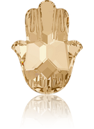 Swarovski Fancy Stone 4778 MM 18,0X 13,7 CRYSTAL GOL.SHADOW F(48pcs)