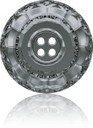 Swarovski Button 3008 MM 12,0 CRYSTAL SILVNIGHT(48pcs)